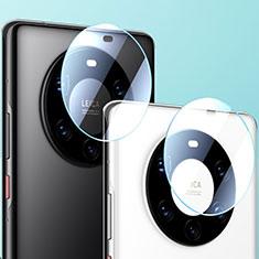 Huawei Mate 40 Pro用強化ガラス カメラプロテクター カメラレンズ 保護ガラスフイルム ファーウェイ クリア