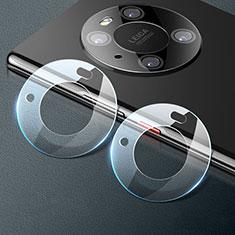 Huawei Mate 40 Pro用強化ガラス カメラプロテクター カメラレンズ 保護ガラスフイルム C01 ファーウェイ クリア