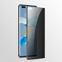 Huawei Mate 40 Pro用反スパイ 強化ガラス 液晶保護フィルム ファーウェイ クリア
