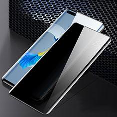 Huawei Mate 40 Pro用反スパイ 強化ガラス 液晶保護フィルム M02 ファーウェイ クリア