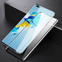 Huawei Mate 40 Pro用強化ガラス フル液晶保護フィルム F05 ファーウェイ ブラック