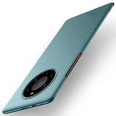 Huawei Mate 40 Pro+ Plus用ハードケース プラスチック 質感もマット カバー M01 ファーウェイ グリーン