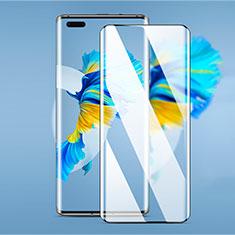 Huawei Mate 40 Pro+ Plus用強化ガラス フル液晶保護フィルム F03 ファーウェイ ブラック