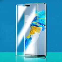 Huawei Mate 40 Pro+ Plus用強化ガラス 液晶保護フィルム T02 ファーウェイ クリア