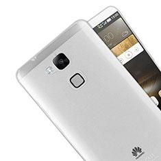 Huawei Mate 7用極薄ソフトケース シリコンケース 耐衝撃 全面保護 クリア透明 R01 ファーウェイ クリア