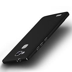 Huawei Mate 7用ハードケース プラスチック 質感もマット ファーウェイ ブラック