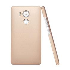 Huawei Mate 8用ハードケース プラスチック 質感もマット ファーウェイ ゴールド