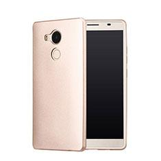Huawei Mate 8用ハードケース プラスチック 質感もマット カバー P01 ファーウェイ ゴールド