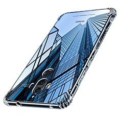 Huawei Mate 9用極薄ソフトケース シリコンケース 耐衝撃 全面保護 クリア透明 T16 ファーウェイ クリア