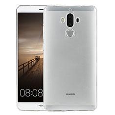 Huawei Mate 9用極薄ソフトケース シリコンケース 耐衝撃 全面保護 クリア透明 カバー ファーウェイ クリア