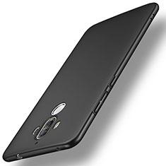 Huawei Mate 9用ハードケース プラスチック 質感もマット ファーウェイ ブラック