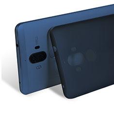 Huawei Mate 9用極薄ケース クリア透明 プラスチック ファーウェイ ネイビー