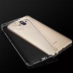 Huawei Mate 9用極薄ソフトケース シリコンケース 耐衝撃 全面保護 クリア透明 T04 ファーウェイ クリア