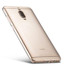Huawei Mate 9 Pro用極薄ソフトケース シリコンケース 耐衝撃 全面保護 クリア透明 T02 ファーウェイ クリア