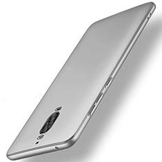Huawei Mate 9 Pro用ハードケース プラスチック 質感もマット M01 ファーウェイ シルバー