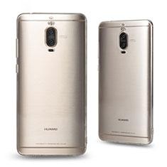 Huawei Mate 9 Pro用極薄ソフトケース シリコンケース 耐衝撃 全面保護 クリア透明 T03 ファーウェイ クリア