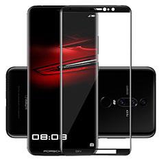 Huawei Mate RS用強化ガラス フル液晶保護フィルム F02 ファーウェイ ブラック