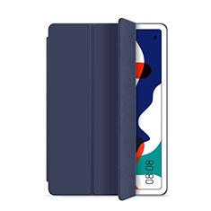 Huawei MatePad 10.4用手帳型 レザーケース スタンド カバー L03 ファーウェイ ネイビー