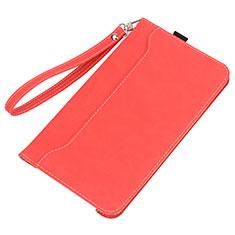 Huawei MatePad 10.4用手帳型 レザーケース スタンド カバー L05 ファーウェイ レッド