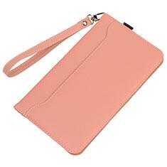 Huawei MatePad 10.4用手帳型 レザーケース スタンド カバー L05 ファーウェイ ピンク