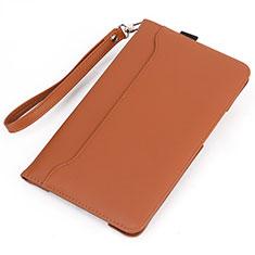 Huawei MatePad 10.4用手帳型 レザーケース スタンド カバー L05 ファーウェイ オレンジ
