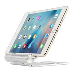 Huawei MatePad 10.4用スタンドタイプのタブレット クリップ式 フレキシブル仕様 K14 ファーウェイ シルバー