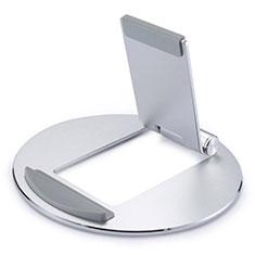 Huawei MatePad 10.4用スタンドタイプのタブレット クリップ式 フレキシブル仕様 K16 ファーウェイ シルバー