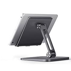 Huawei MatePad 10.4用スタンドタイプのタブレット クリップ式 フレキシブル仕様 K17 ファーウェイ ダークグレー