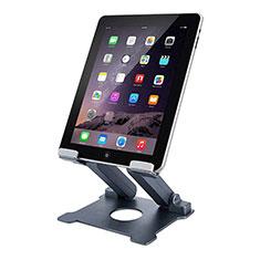 Huawei MatePad 10.4用スタンドタイプのタブレット クリップ式 フレキシブル仕様 K18 ファーウェイ ダークグレー