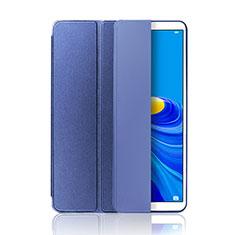 Huawei MatePad 10.8用手帳型 レザーケース スタンド カバー L01 ファーウェイ ネイビー