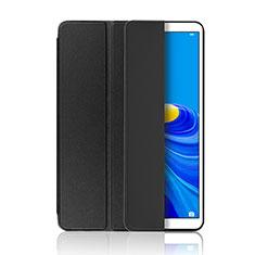 Huawei MatePad 10.8用手帳型 レザーケース スタンド カバー L01 ファーウェイ ブラック