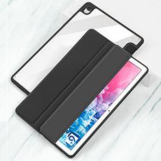 Huawei MatePad 10.8用手帳型 レザーケース スタンド カバー L04 ファーウェイ ブラック
