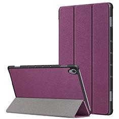 Huawei MatePad 10.8用手帳型 レザーケース スタンド カバー L05 ファーウェイ パープル