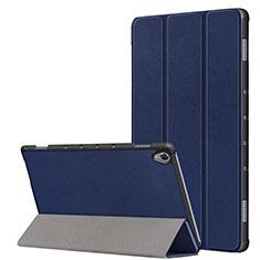 Huawei MatePad 10.8用手帳型 レザーケース スタンド カバー L05 ファーウェイ ネイビー