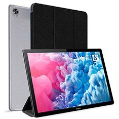 Huawei MatePad 10.8用手帳型 レザーケース スタンド カバー L06 ファーウェイ ブラック