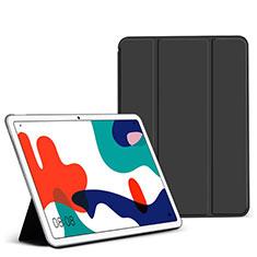 Huawei MatePad 5G 10.4用手帳型 レザーケース スタンド カバー L02 ファーウェイ ブラック