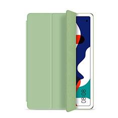 Huawei MatePad 5G 10.4用手帳型 レザーケース スタンド カバー L03 ファーウェイ シアン