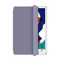 Huawei MatePad 5G 10.4用手帳型 レザーケース スタンド カバー L03 ファーウェイ グレー