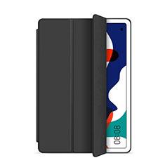 Huawei MatePad 5G 10.4用手帳型 レザーケース スタンド カバー L03 ファーウェイ ブラック
