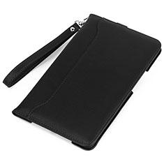 Huawei MatePad 5G 10.4用手帳型 レザーケース スタンド カバー L05 ファーウェイ ブラック