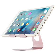 Huawei MatePad 5G 10.4用スタンドタイプのタブレット クリップ式 フレキシブル仕様 K15 ファーウェイ ローズゴールド