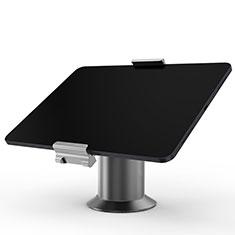 Huawei MatePad 5G 10.4用スタンドタイプのタブレット クリップ式 フレキシブル仕様 K12 ファーウェイ グレー