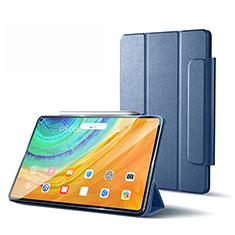 Huawei MatePad Pro 5G 10.8用手帳型 レザーケース スタンド カバー L01 ファーウェイ ラベンダーグレー