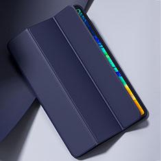 Huawei MatePad Pro 5G 10.8用手帳型 レザーケース スタンド カバー L02 ファーウェイ ネイビー