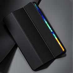 Huawei MatePad Pro 5G 10.8用手帳型 レザーケース スタンド カバー L02 ファーウェイ ブラック