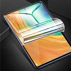 Huawei MatePad Pro 5G 10.8用高光沢 液晶保護フィルム フルカバレッジ画面 ファーウェイ クリア
