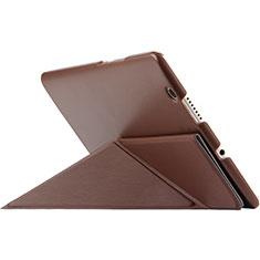 Huawei MediaPad M3用手帳型 レザーケース スタンド L01 ファーウェイ ブラウン
