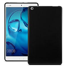 Huawei MediaPad M3用シリコンケース ソフトタッチラバー ファーウェイ ブラック