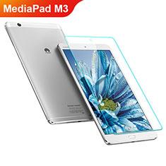 Huawei MediaPad M3用強化ガラス 液晶保護フィルム T05 ファーウェイ クリア