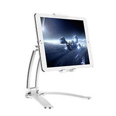 Huawei MediaPad M3 Lite用スタンドタイプのタブレット クリップ式 フレキシブル仕様 K05 ファーウェイ シルバー